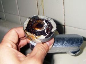 シャワー配管